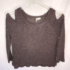 TILLYS cold shoulder sweater